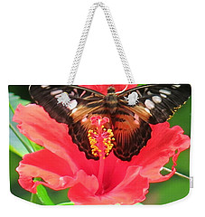 Beautiful Butterfly Weekender Tote Bag by Betty Buller Whitehead