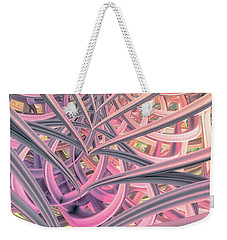 Beautiful Cage Weekender Tote Bag by Matt Lindley