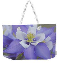 Beautiful Columbines Weekender Tote Bag by Ernie Echols