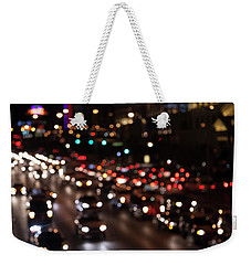 Weekender Tote Bag featuring the photograph Beautiful Congestion by Eric Christopher Jackson