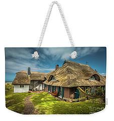 Beautiful Cottage Weekender Tote Bag by Eva Lechner