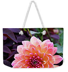 Beautiful Dahlia Weekender Tote Bag