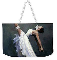 Beautiful Dancer Weekender Tote Bag by Janet King