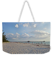 Beautiful Day On Naples Beach Naples Florida Weekender Tote Bag