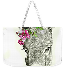 Beautiful Donkey Weekender Tote Bag