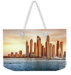 Beautiful Dubai Cityscape Weekender Tote Bag