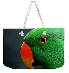 Beautiful Eclectus Parrot Weekender Tote Bag