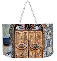Beautiful Entrance In Tuscany, Italy Weekender Tote Bag