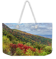 Beautiful Fall Foliage In The Blue Ridge Mountains Weekender Tote Bag