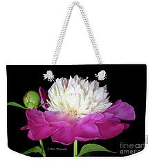 Beautiful Fancy Peony Weekender Tote Bag