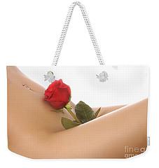 Beautiful Female Body Weekender Tote Bag