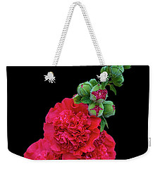 Beautiful Flowering Mallow Weekender Tote Bag