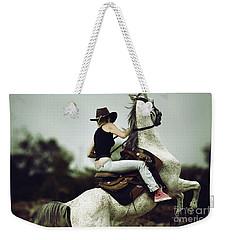 Beautiful Girl Ridingwhite Horse Weekender Tote Bag