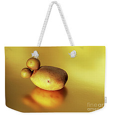 Beautiful Golden Spud With Babies Weekender Tote Bag