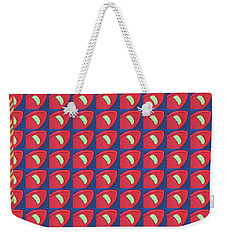 Weekender Tote Bag featuring the digital art Beautiful Graphic Fineart Pattern Holidays Festivals Birthday Tshirts Pillows Towels Curtains Gifts by Navin Joshi