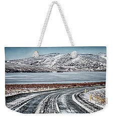 Beautiful Iceland Landscape Weekender Tote Bag