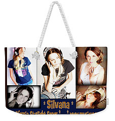 Beautiful Images Of Hot Photo Model Weekender Tote Bag by Silvana Vienne