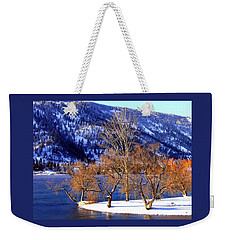 Weekender Tote Bag featuring the photograph Beautiful Kaloya Park by Will Borden