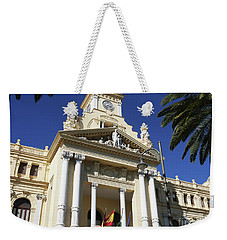 Beautiful Malaga City Hall Weekender Tote Bag