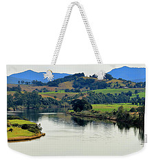 Weekender Tote Bag featuring the photograph Beautiful Manning River 06663. by Kevin Chippindall