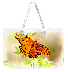 Beautiful Gulf Fritillary Weekender Tote Bag