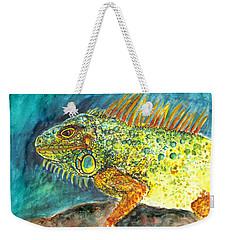 Beautiful Monster Weekender Tote Bag by Clara Sue Beym