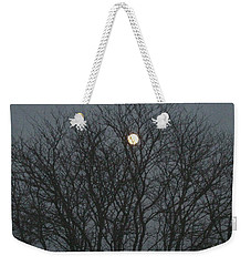 Beautiful Moon Weekender Tote Bag by Sonali Gangane