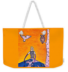 Beautiful Morning Weekender Tote Bag