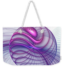 Beautiful Movements Fractal Art Weekender Tote Bag by Gabiw Art