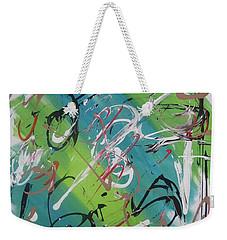Beautiful Noise Weekender Tote Bag