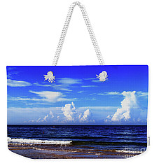 Weekender Tote Bag featuring the photograph Beautiful Ocean View by Gary Wonning