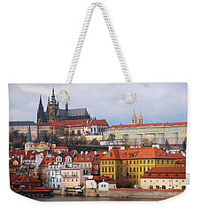 Beautiful Old Prague Weekender Tote Bag