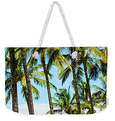 Weekender Tote Bag featuring the photograph Beautiful Palms Of Maui 16 by Micah May