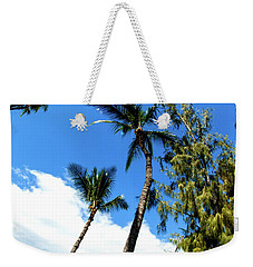 Weekender Tote Bag featuring the photograph Beautiful Palms Of Maui 17 by Micah May