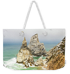 Beautiful Praia Da Ursa In Portugal Weekender Tote Bag