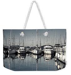Beautiful Sailboats In The Harbor Weekender Tote Bag