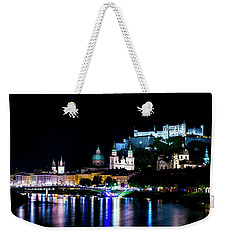 Weekender Tote Bag featuring the photograph Beautiful Salzburg by David Morefield