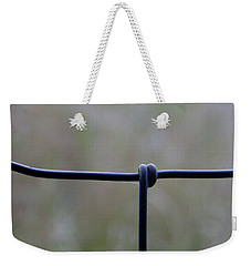 Weekender Tote Bag featuring the photograph Beautiful Single Knot by Tina M Wenger