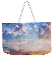 Beautiful Sky Weekender Tote Bag
