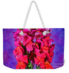 Beautiful Snapdragon Flowers Weekender Tote Bag