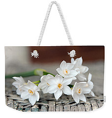 Beautiful Spring Paperwhites Weekender Tote Bag