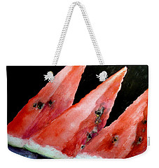 Beautiful Summer Watermelon  Weekender Tote Bag