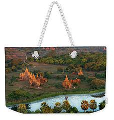 Beautiful Sunrise In Bagan Weekender Tote Bag
