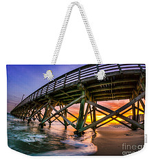 Beautiful Sunset In Myrtle Beach Weekender Tote Bag by David Smith