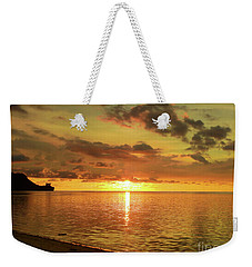 Beautiful Sunsets Guam Weekender Tote Bag by Scott Cameron