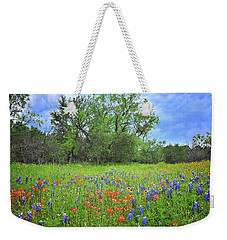 Beautiful Texas Spring Weekender Tote Bag