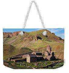 Beautiful Vorotnavank Monastery At Evening, Armenia Weekender Tote Bag