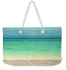 Beautiful Waters Weekender Tote Bag
