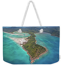 Weekender Tote Bag featuring the photograph Beautiful Whitsundays by Az Jackson