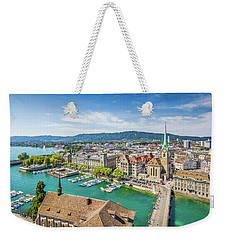 Beautiful Zurich Weekender Tote Bag by JR Photography